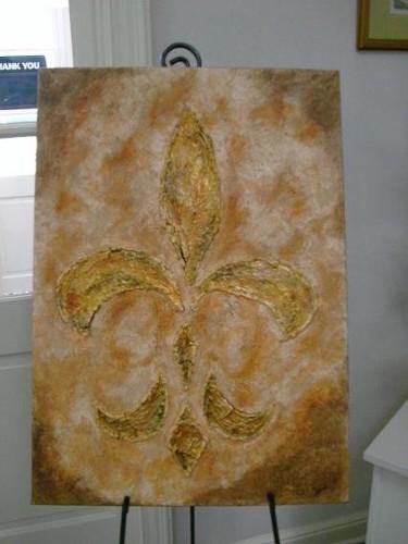 Antique Gold Fleur