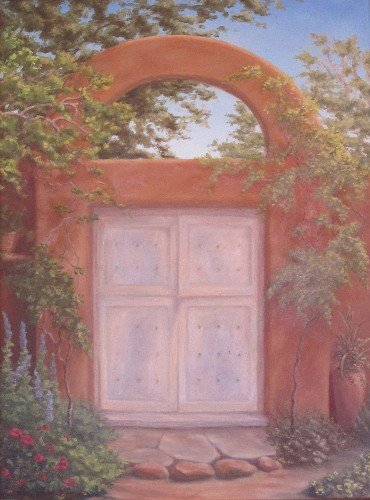 Artist Garden Gate