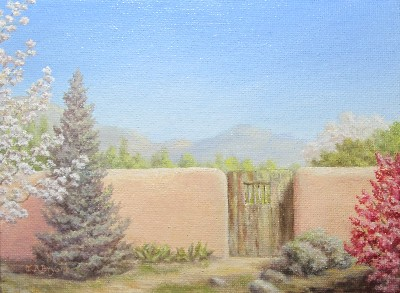 Gate at Saint Juliana, Santa Fe NM