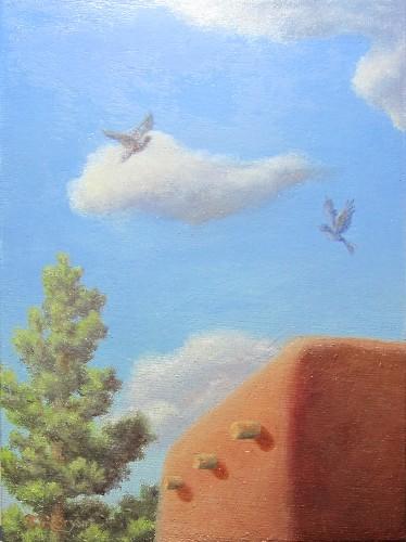 Santa Fe Birds Overhead