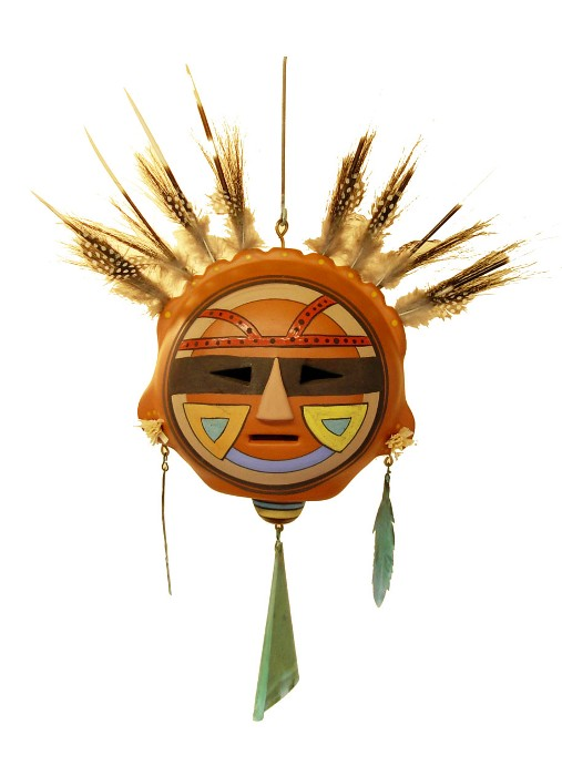 Ty Minton Feather Mask