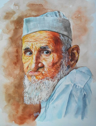 Uday Arts .... old man