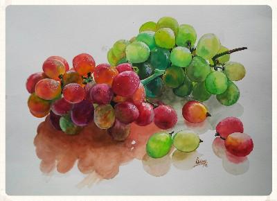 Uday Arts .... grapes