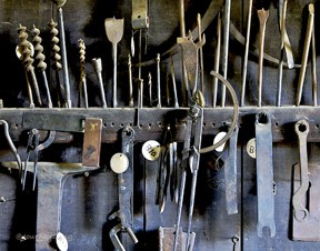 Matthew Edel Blacksmith Tools
