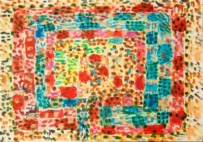 Pointillist Labyrinth