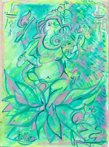 Ganesh verde