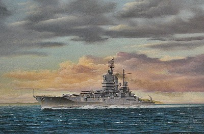 William Gardoski USS Idaho Jan. 1945