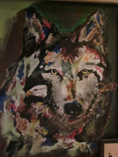 wolf of color