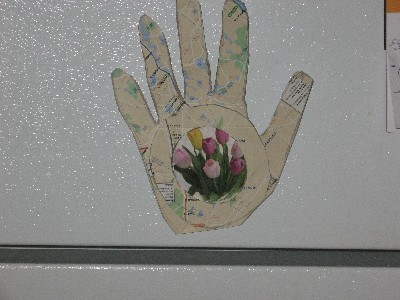 Hand Picture Frame